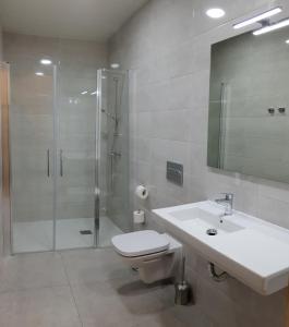 A bathroom at Hostal Capitol Ramblas