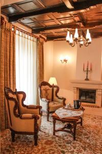 O zonă de relaxare la Hotel Medieval