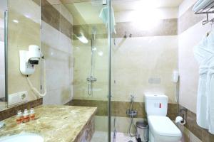 Um banheiro em Smith Hotel