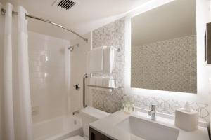 A bathroom at Holiday Inn Denver East, an IHG Hotel