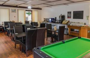 A pool table at Restover Lodge Rotherham