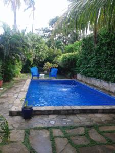 The swimming pool at or near La Posada Azul