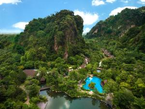 A bird's-eye view of The Banjaran Hotsprings Retreat