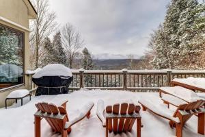 Stratton Ridge during the winter