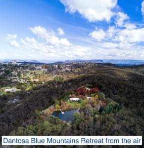 A bird's-eye view of Dantosa Blue Mountains Retreat