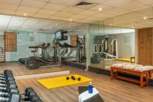Het fitnesscentrum en/of fitnessfaciliteiten van Leonardo Club Eilat - All Inclusive