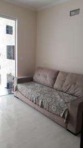 Zona de estar de Excelente apartamento, 2 dormitórios, 200 m do mar