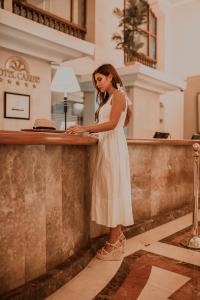 The lobby or reception area at Hotel Caribe By Faranda Grand