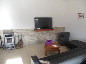 A television and/or entertainment center at L'annexe
