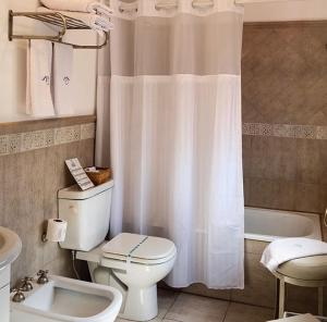 Ванная комната в Lo de Tomy