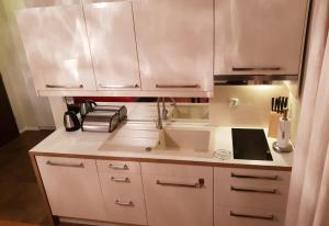 A kitchen or kitchenette at Lux Apartment Cosy