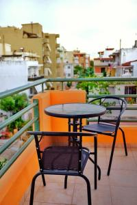 A balcony or terrace at Nice & Quiet Apartment in Best Area