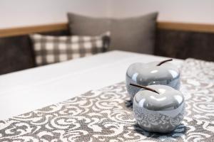 Ein Bett oder Betten in einem Zimmer der Unterkunft Alpine Chalet Sauter