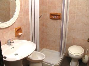 Ванная комната в Hotel Belvedere