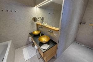 Ein Badezimmer in der Unterkunft Hotel Schöne Aussicht