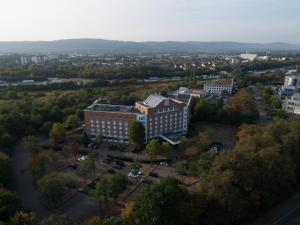 A bird's-eye view of Radisson Blu Hotel Karlsruhe