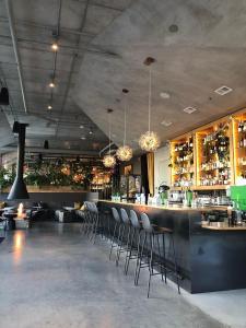 The lounge or bar area at Jupiter NEXT