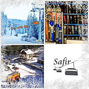 Obiekt Pensjonat Safir zimą