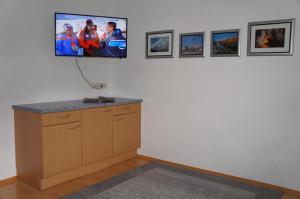 TV/Unterhaltungsangebot in der Unterkunft Pension Strolz