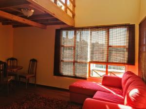 Zona de estar de Loft Hostal JaguiHaus Sonne