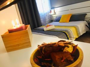 Letto o letti in una camera di Guest House Ferrara