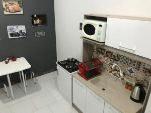 A kitchen or kitchenette at Residencial San Francisco