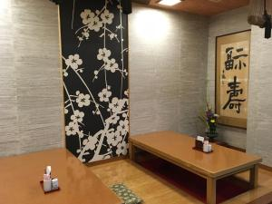 A bathroom at Ryokan Asakusa Shigetsu