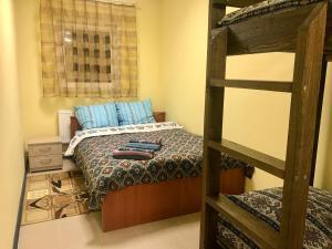 Кровать или кровати в номере TruckStop КАРЕЛИЯ