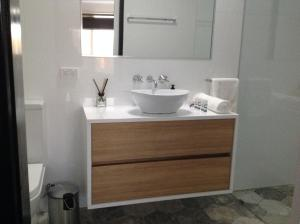 A bathroom at Wld Appartments