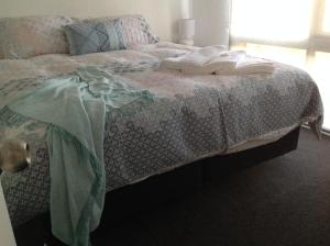 A bed or beds in a room at Wld Appartments