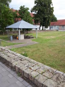 A garden outside Boardinghouse Montago Mannheim