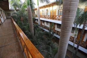 A balcony or terrace at Casa Andina Standard Nasca