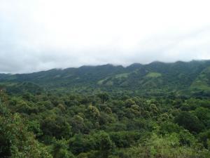 Una imagen general de la montaña o una montaña tomada desde el bed and breakfast
