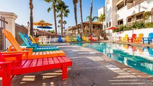Der Swimmingpool an oder in der Nähe von Best Western Plus Hacienda Hotel Old Town