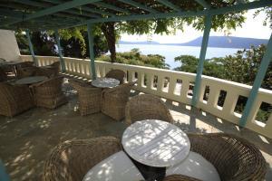Balcone o terrazza di Casa Kalypso