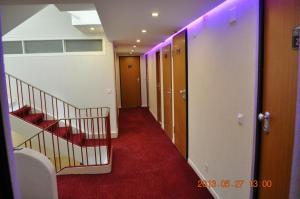 Der Geschäftsbereich oder Konferenzraum in der Unterkunft Hotel de Savoie