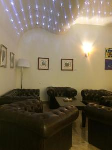 Posedenie v ubytovaní WELLNESS HOTEL LÖWE