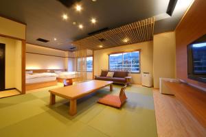 A seating area at Koyokaku