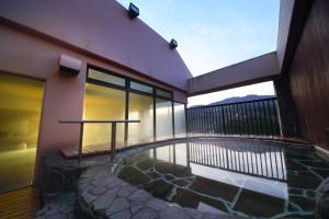 The swimming pool at or near Koyokaku