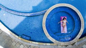 Het zwembad bij of vlak bij Pearle Beach Resort & Spa