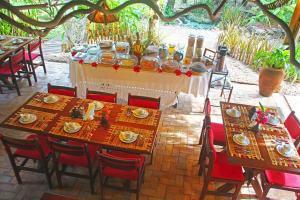 Un restaurante o sitio para comer en Pousada Berro do Jeguy