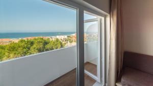 A balcony or terrace at Pato Rojo