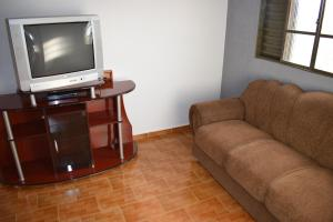 A television and/or entertainment center at Imperio Hotel