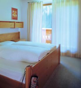 Letto o letti in una camera di Ferienpension Senfter