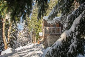 Chalet F'Net during the winter