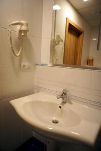 Ein Badezimmer in der Unterkunft Hotel Labe