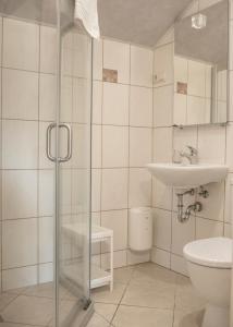 A bathroom at Nidos stiegė