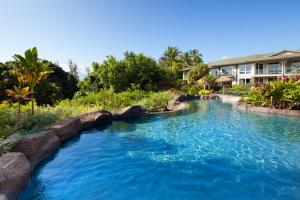 The swimming pool at or near The Westin Princeville Ocean Resort Villas