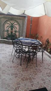 A porch or other outdoor area at Arif