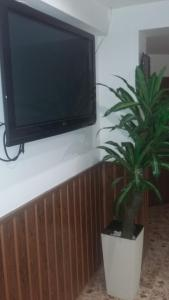 A television and/or entertainment center at Hotel Rio